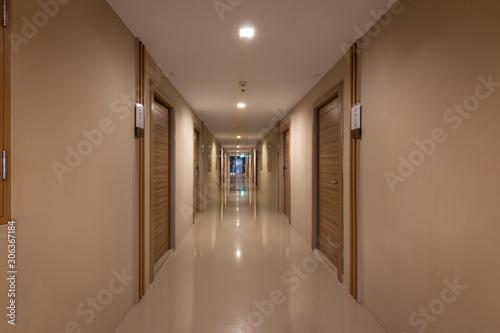 corridor in hotel Wallpaper Mural