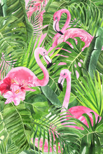Composition With Tropical Leav...