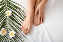 Legs Of Beautiful Woman Relaxi...