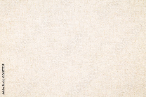Fototapeta Natural linen material textile canvas texture background obraz