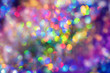 canvas print picture Holographic neon abstract background