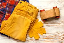 Stylish Autumn Kid Clothes Wit...
