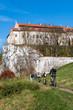 klasztor w tyńcu, turystyka, bieganie, spacerowanie