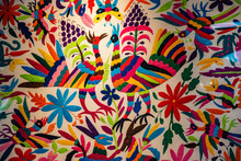 Colorful Mexican Embroidery, M...