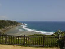 沖縄平和祈念公園の海