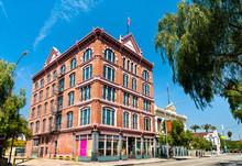 Historic Vickrey-Brunswig Building In Los Angeles Plaza Historic District, California