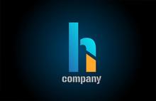Letter H Alphabet Icon Logo Sh...