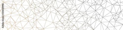 Fotografia Color Abstract trianglify Generative Art background illustration
