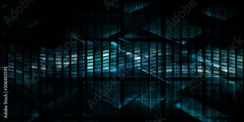 Fototapeta Technology Abstract Background obraz
