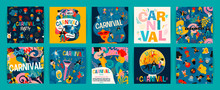 Hello Carnival. Vector Set Of ...