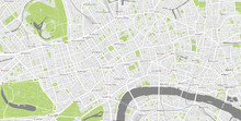 Detailed Map Of Central London...