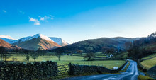 Scenic Road In The Ullswater V...