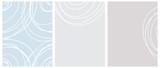 Ładny bez szwu wektor geometryczny wzór i układy. Białe linie wolnej ręki na jasnoniebieskim i szarym tle. Proste abstrakcyjne wydruki wektorowe idealne na układ, okładkę. - 306417189
