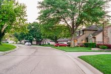Beautiful Neighborhood Street