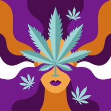 Cannabis Poster. The Concept O...