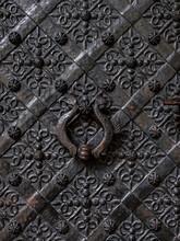 Ornamental Metal Door At Wawel...