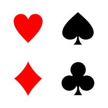 Playing Card Icon Vector Desig...