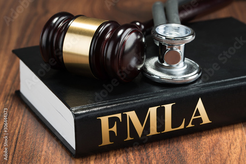 Gavel And Stethoscope On Book Canvas Print