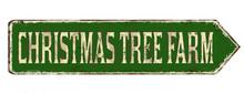 Christmas Tree Farm Vintage Ru...