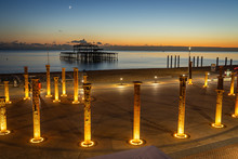 West Pier And Old Supporting C...