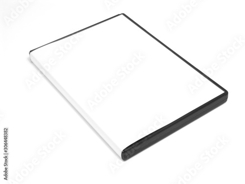 Cuadros en Lienzo White and black box for surfaces the CD or the DVD