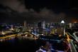 Singapore, 7 january 2019 - Marina Bay in Singapore by night