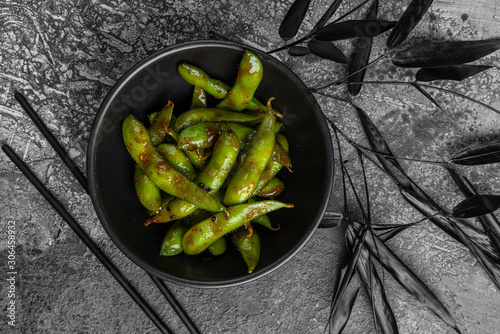 Spicy Chinese Sichuan stir-fried Green Beans Canvas Print
