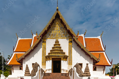 Tetrahedron temple, Wat Phumin Popular tourist attractions in Nan, Thailand
