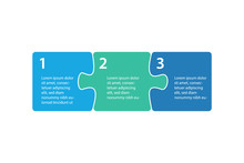 Infographics Step Blocks As Pu...