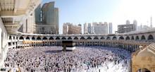 Muslim Pilgrims At The Kaaba I...