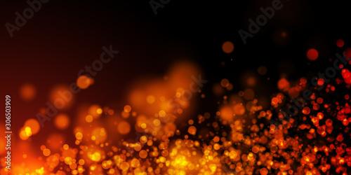 Fotografie, Tablou sfondo, fondo, bokeh, luci, calore, scintille, magia