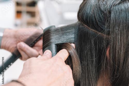 Fototapeta backstage salone parrucchieri