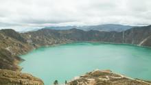 Quilotoa Lagoon (Ecuador), Aug...