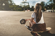 Leisure, Hobby And Skate In Th...