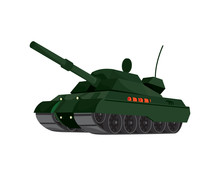 Detailed Tank The Military Veh...