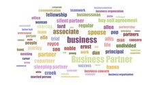 Business Partner Wordcloud Ani...