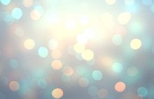 Bright Golden Bokeh Eon Blue T...