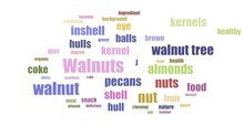 Walnuts Word Cloud Animated Is...