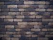 岩のような煉瓦で積まれた壁 素材