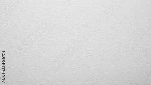 Fototapety, obrazy: White concrete wall.Water-based paint background.The texture of the white painted walls.