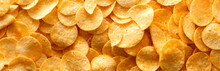 Potato Chips Panorama, Texture...