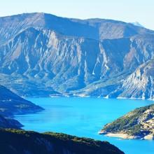 Panoramic View Of Lake Lac De ...