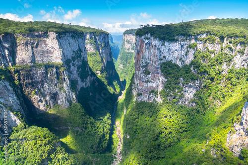 Beautiful landscape of Canyon Itaimbezinho - Cambara do Sul/Rio Grande do Sul - Tableau sur Toile