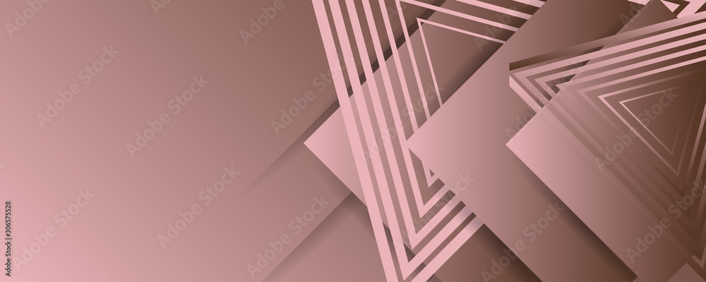 Abstract dark modern colors gradient geometric shape with lines and shadows editable vector design
