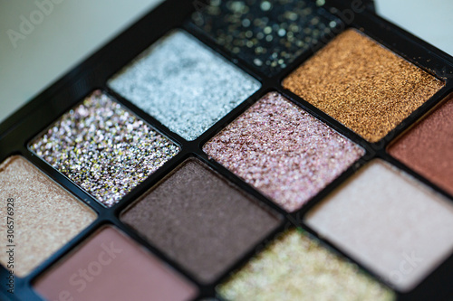 Fotografie, Tablou Eyeshadow palette