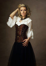 Woman In Steampunk