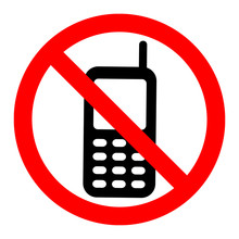 No Cell Phones Symbol