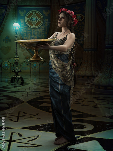 Fotomural The High Priestess, 3d CG