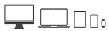 Set Technology Devices Icon: T...