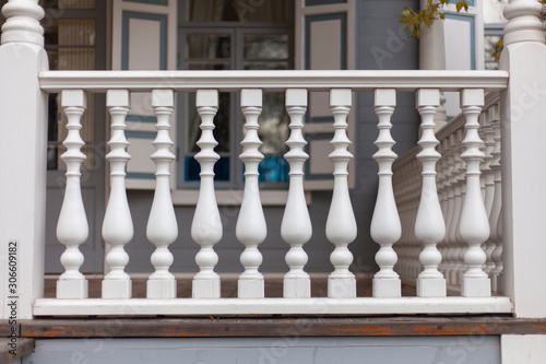 Photo Architectural element on the porch of the baluster.